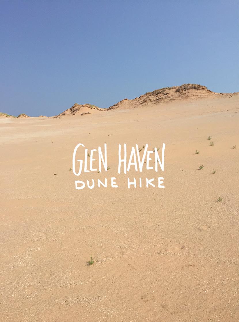 Hiking Glen Haven Dunes The Fresh Exchange