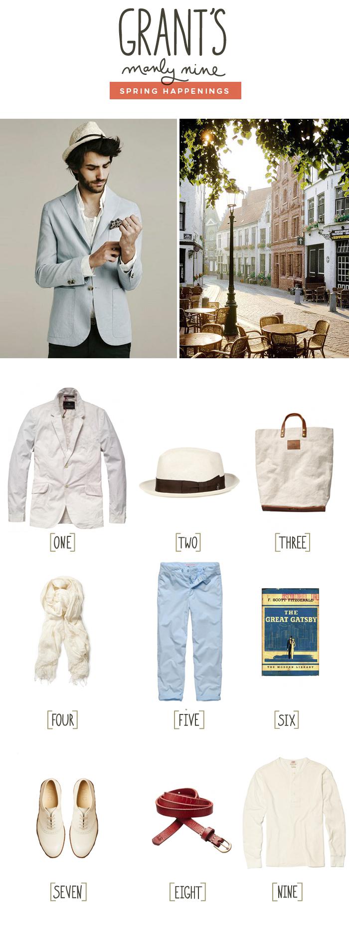 Grant Manly Nine, Men's Fashion Inspiration