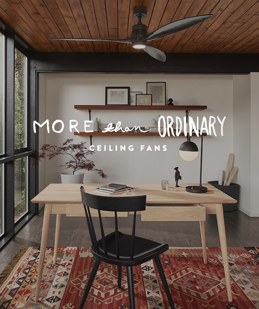 More than Ordinary: Great Stylish Ceiling Fans | The Fresh Exchange
