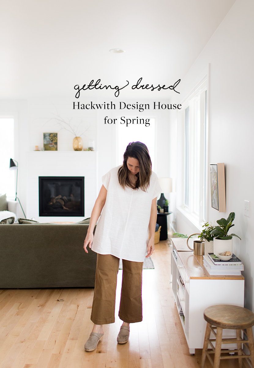 Getting Dressed with Hackwith Design House for Spring. More on The Fresh Exchange