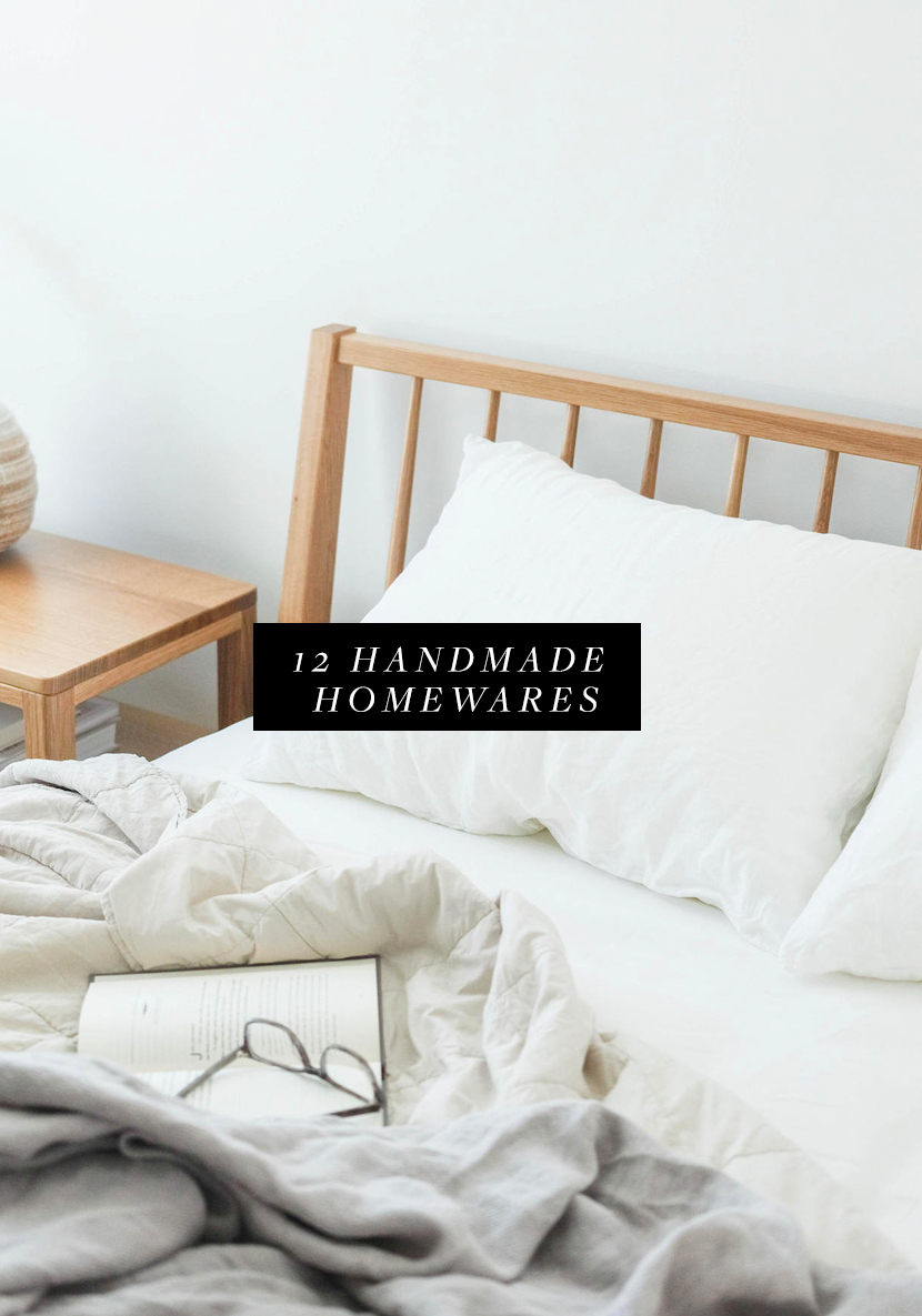 12 Handmade Items for your Home that are gorgeous! See them all on The Fresh Exchange