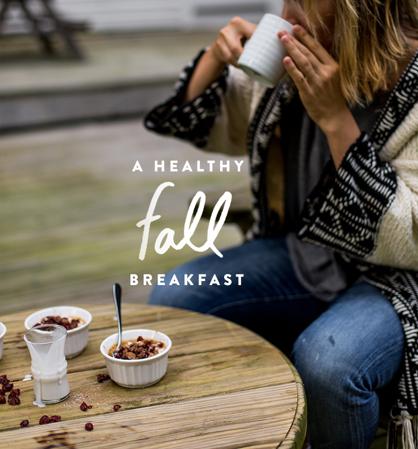 A Healthy Fall Pumpkin Spice Breakfast with McCormick | The Fresh Exchange