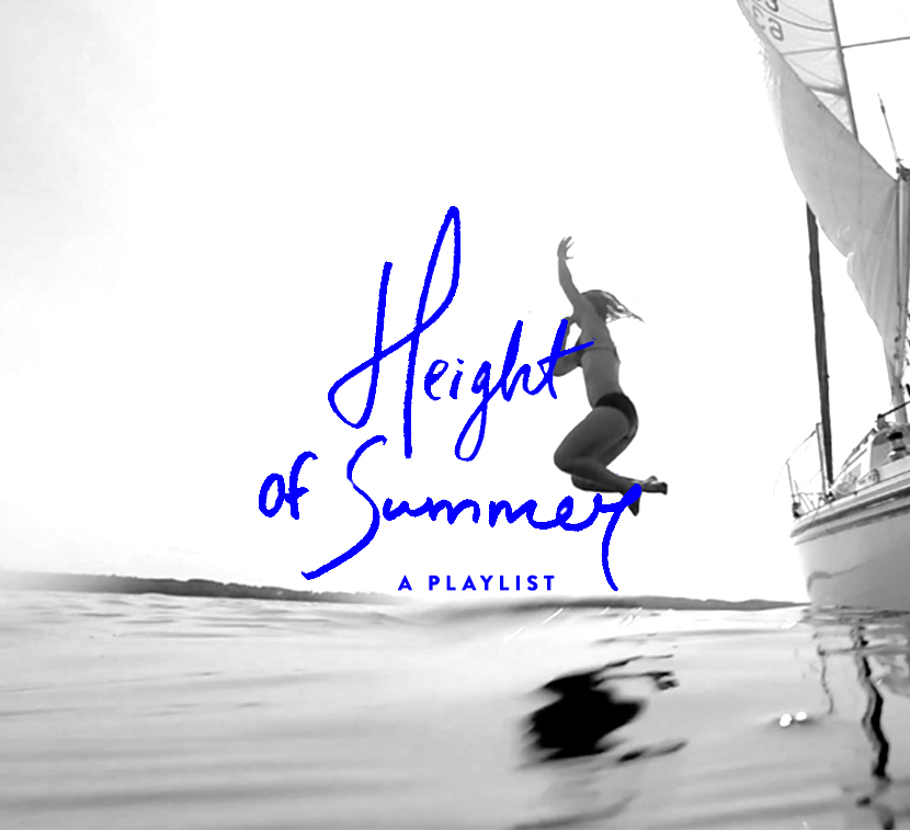 Height of Summer Playlist | The Fresh Exchange