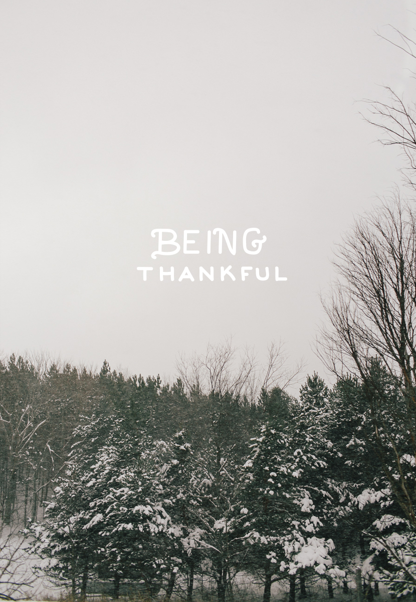 Being Thankful  |  The Fresh Exchange