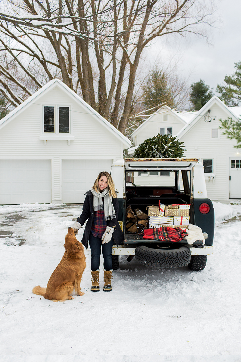 I'll be Home for Christmas. A celebration of being home for the holidays in the Midwest | The Fresh Exchange