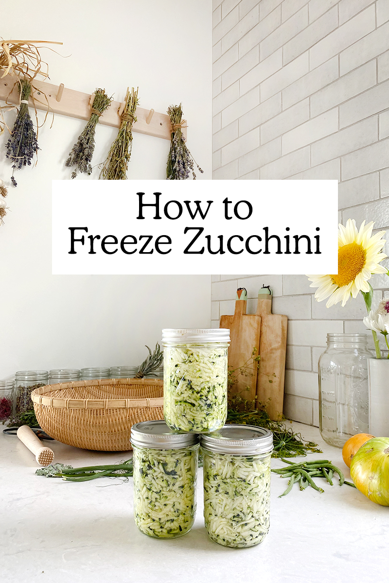 How to Freeze Zucchini with No Waste   Fresh Exchange