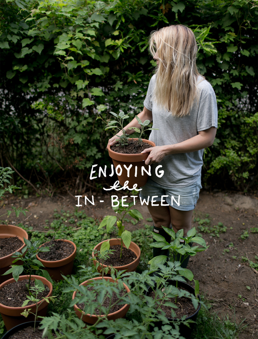 Enjoying the In-Between  |  The Fresh Exchange