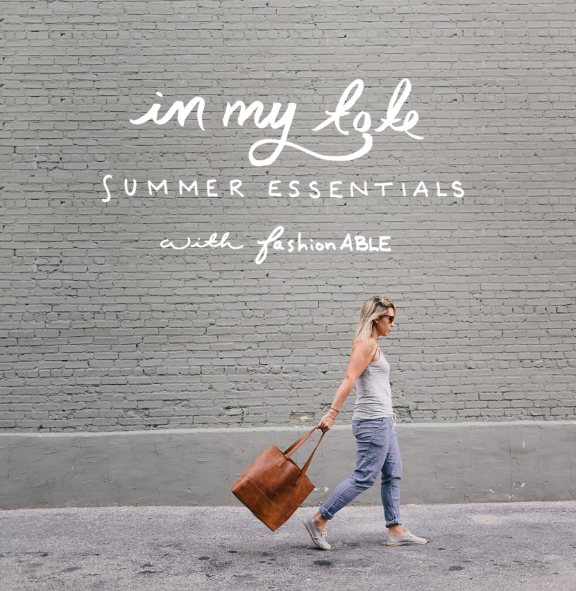 In My Tote: Summer Essentials  with FashionABLE  |  The Fresh Exchange