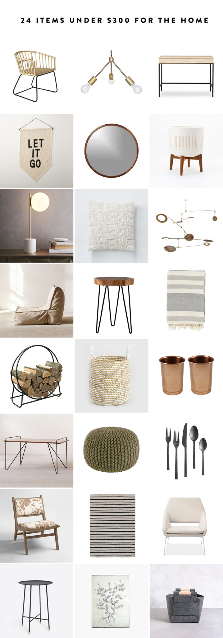 24 Items for Your Home Under $300 to freshen up your space this new year  |  The Fresh Exchange