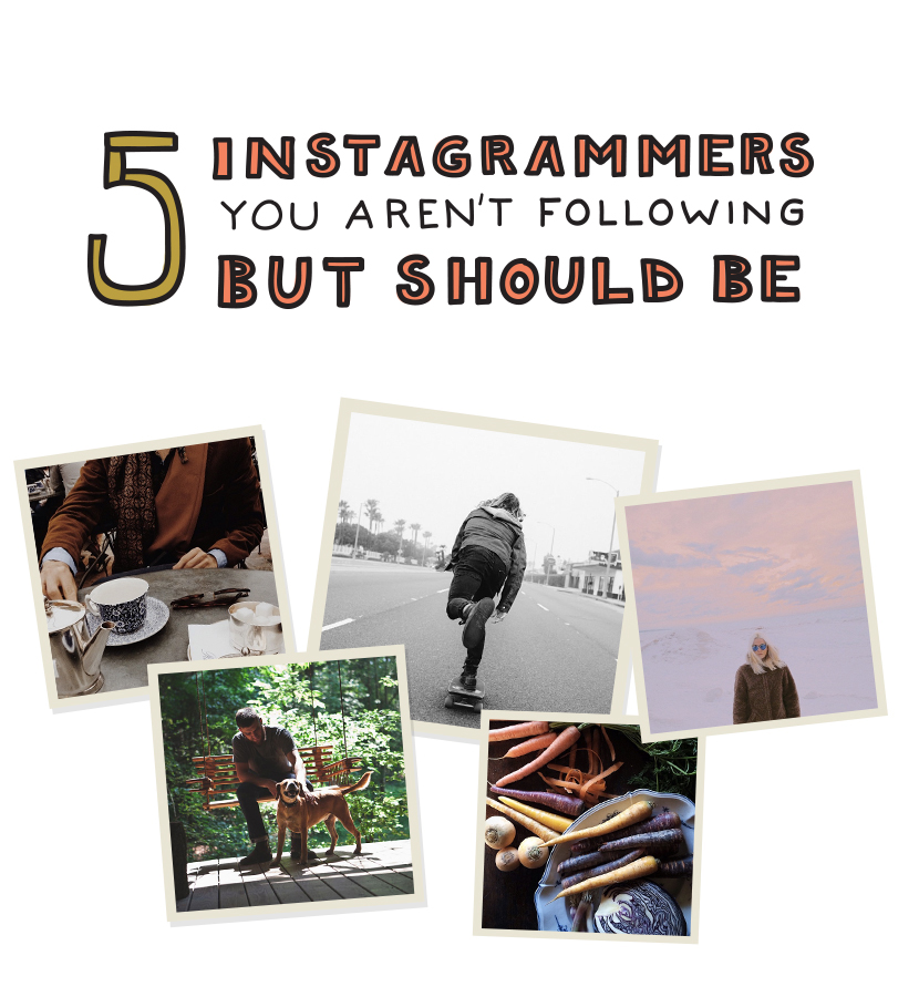 5 Instagrammers You Need to Follow  |  The Fresh Exchange