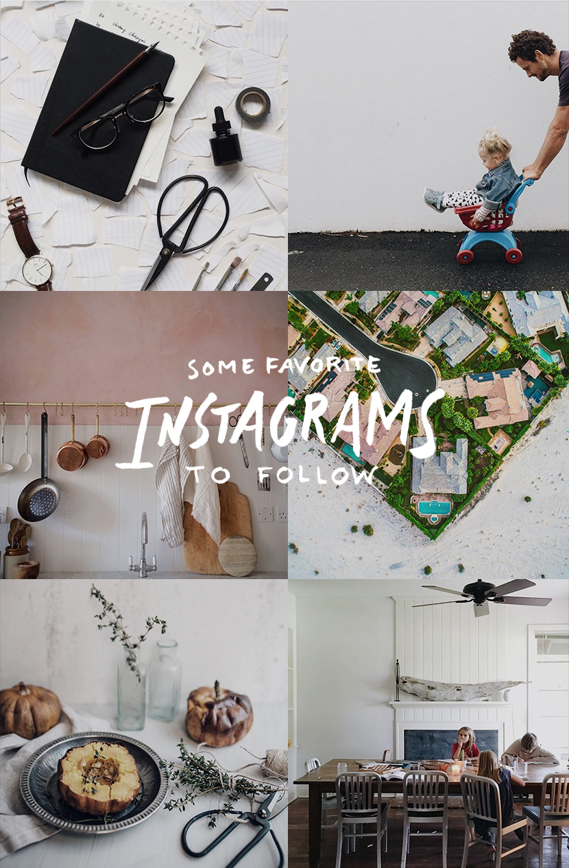Some Favorite Instagrams to Follow | The Fresh Exchange