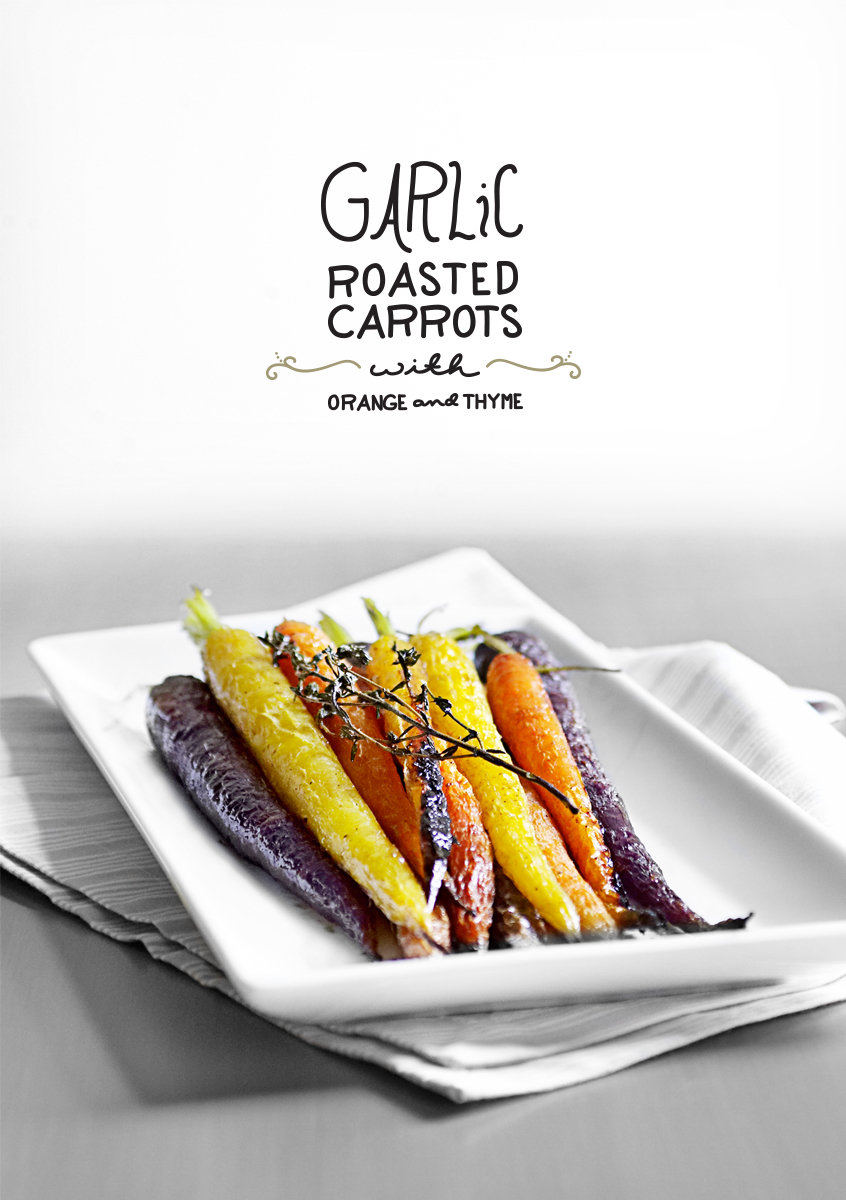 Just 5: Garlic Roasted Carrots from The Yellow Table  |  The Fresh Exchange