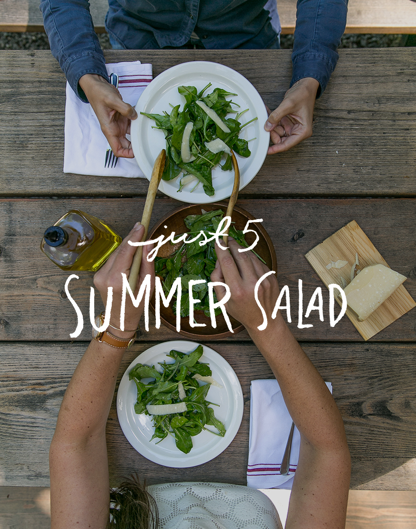 Just 5: Summer Salad with Epicure Catering | The Fresh Exchange