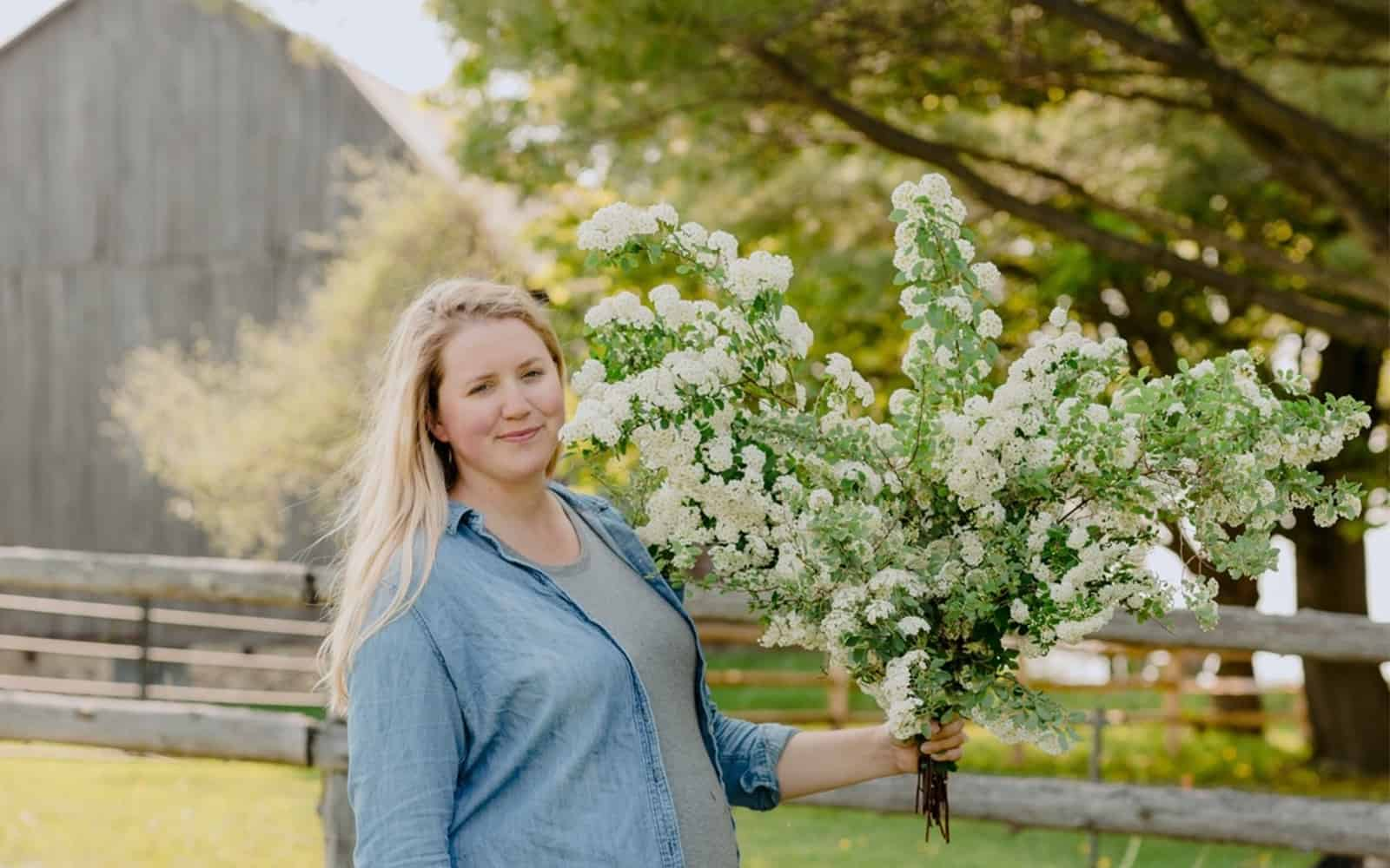 Garden Tour: Kalin Sheick of Sweetwater Floral in Petoskey, Michigan