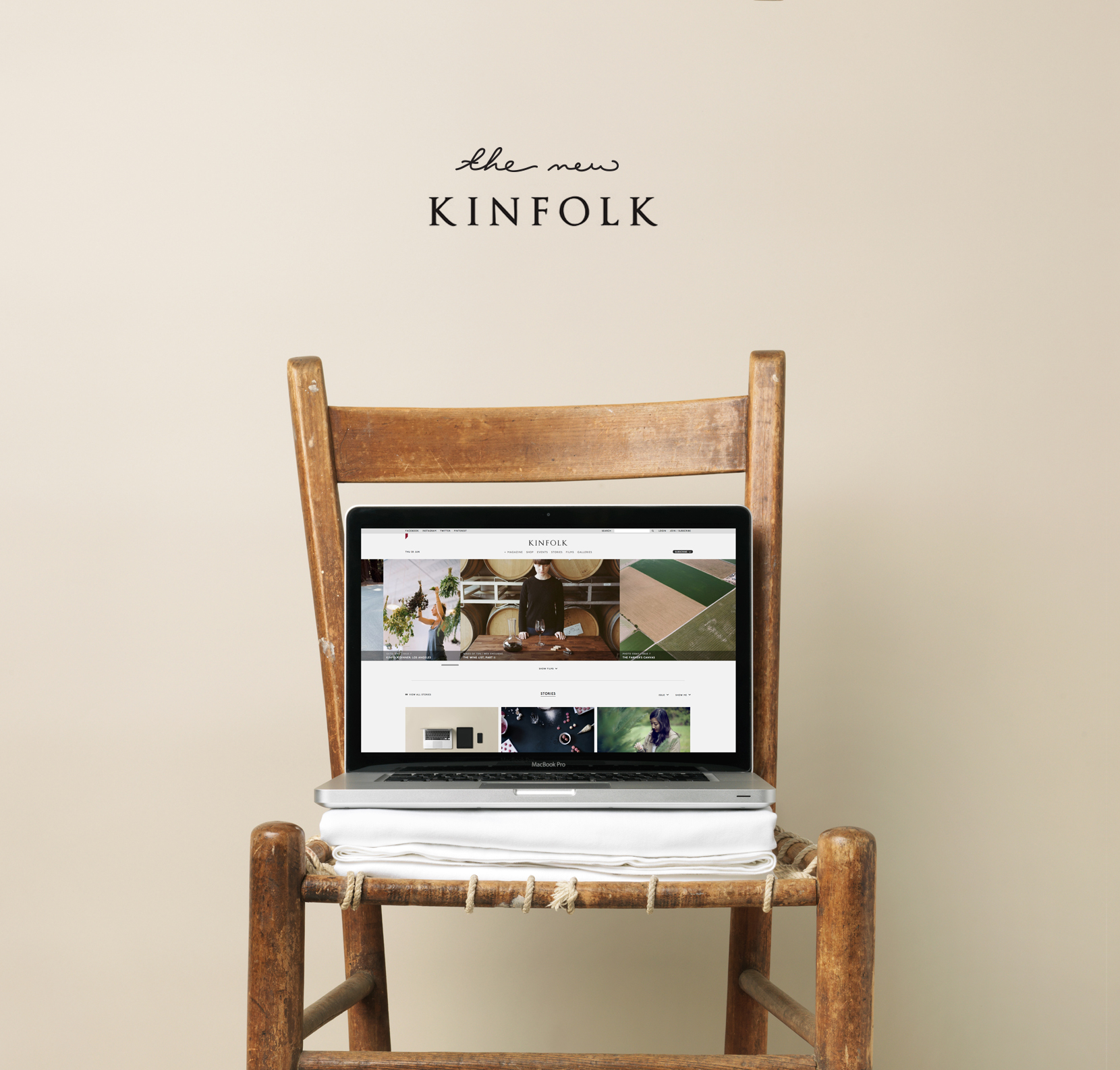 Kinfolk Digital  |  The Fresh Exchange
