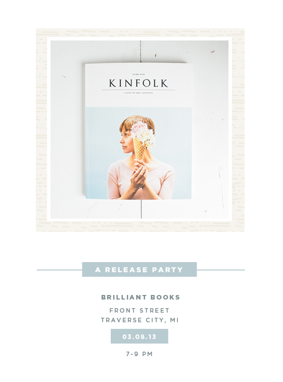 Kinfolk Release Party  |  The Fresh Exchange