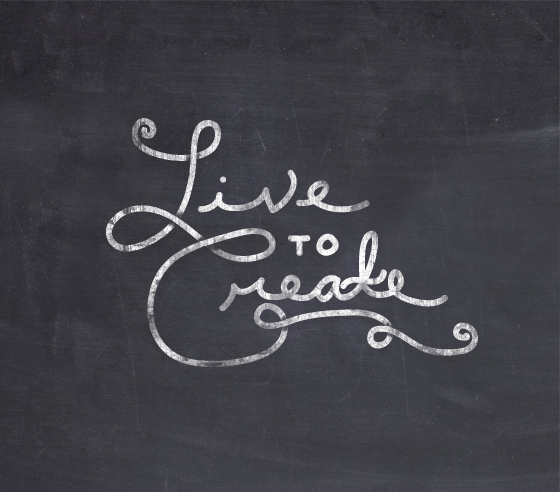 Live to Create     The Fresh Exchange