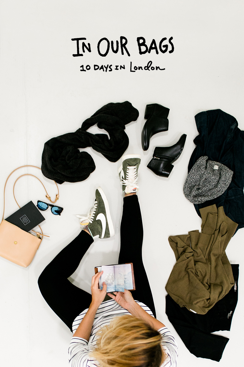 In Our Bags: 10 Days in London | The Fresh Exchange