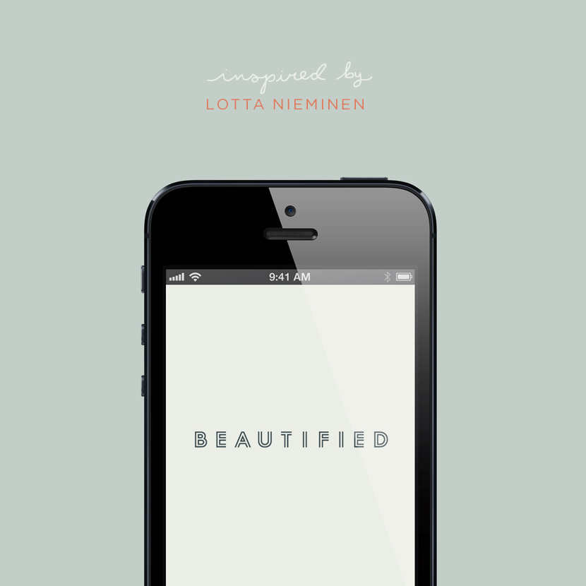 Inspired by: Lotta Nieminen  |  The Fresh Exchange