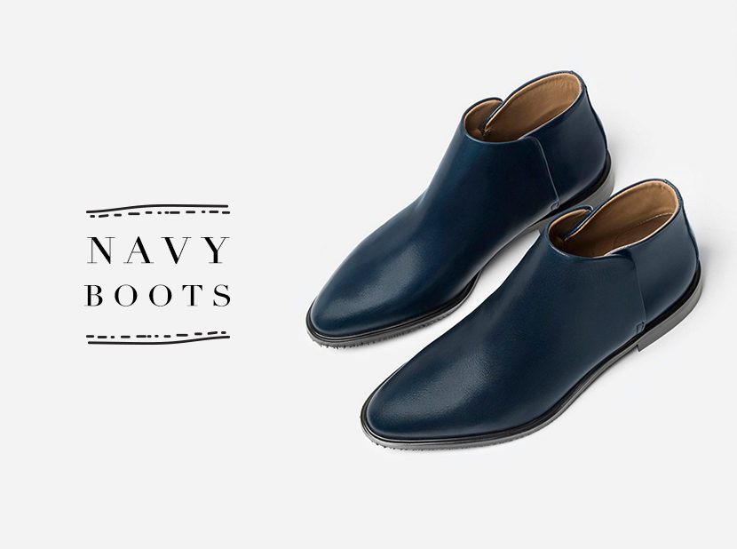 Loving Now: Navy Boots | The Fresh Exchange