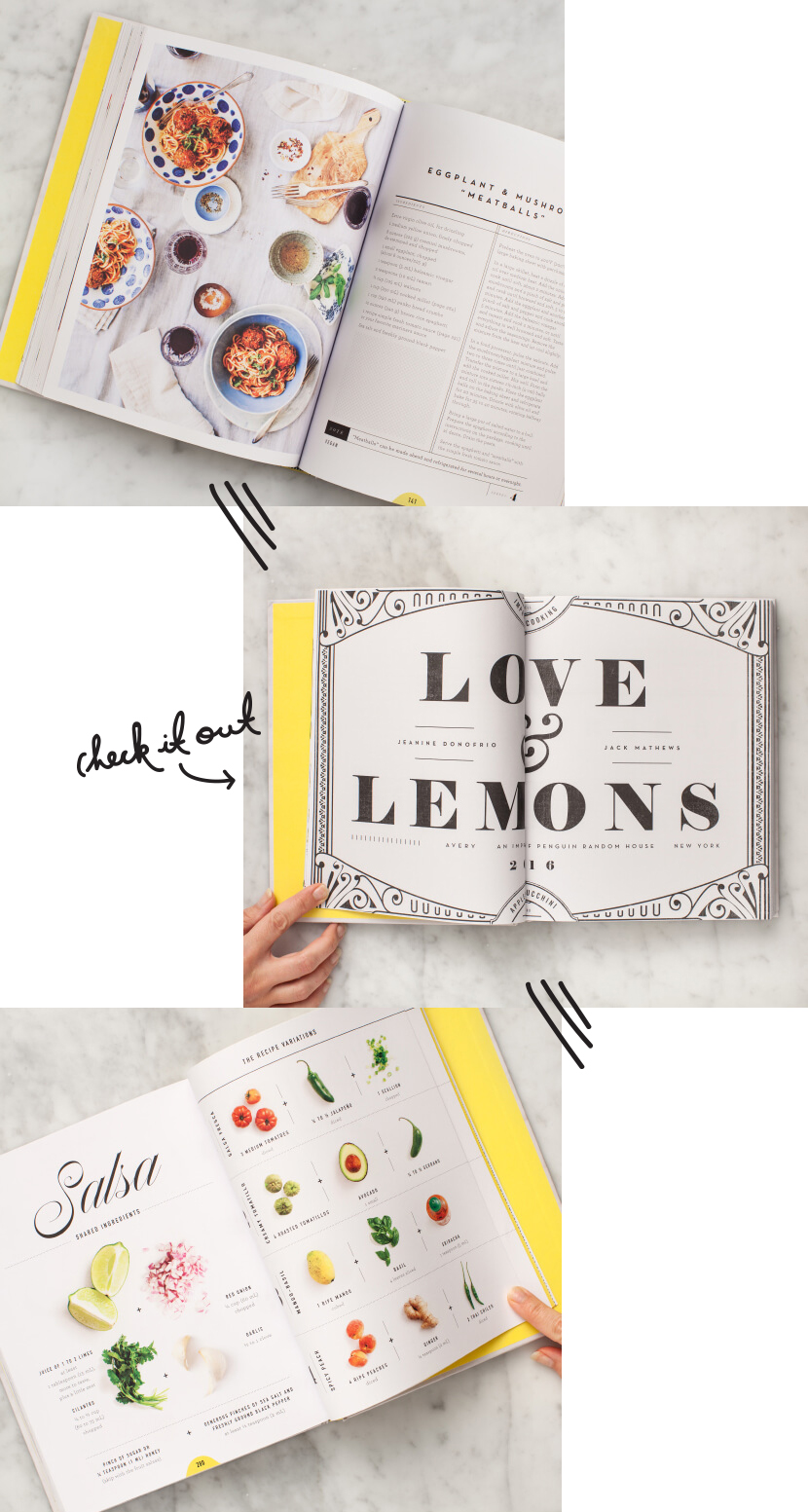 Love and Lemons Cookbook | The Fresh Exchange