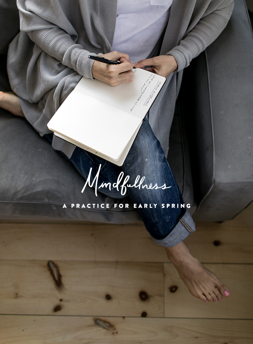 Practicing mindfulness is important in every season, but early spring is a hard time for most. This simple practice either done once or every day will help you feel positive and present even when you feel spring may never come. Get a free download to use on The Fresh Exchange by clicking through the image.