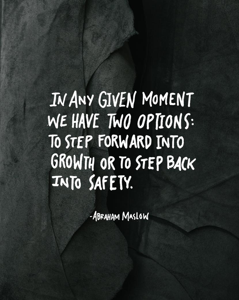 Monday Words: Maslow Quote | The Fresh Exchange