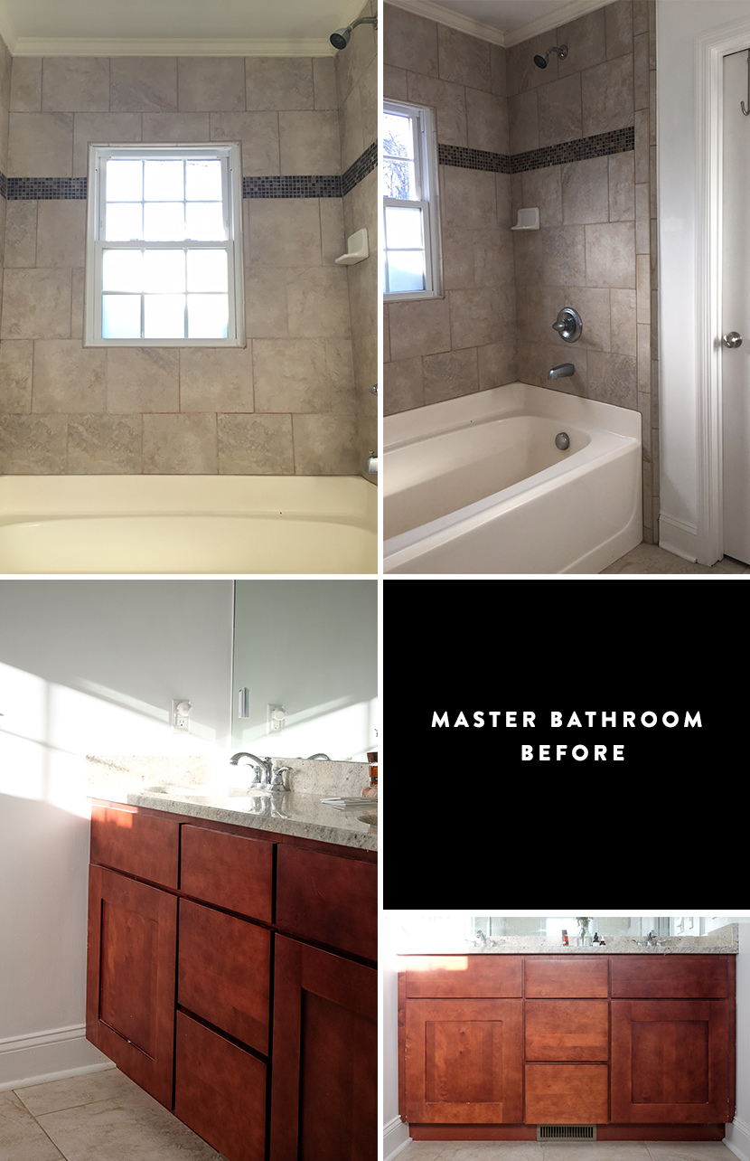 Inspirational Master Bathroom Update The Fresh Exchange