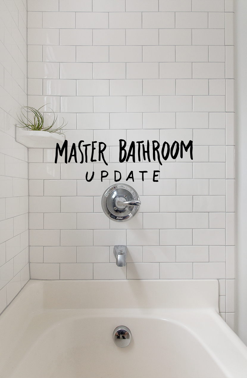 Master Bathroom Update | The Fresh Exchange