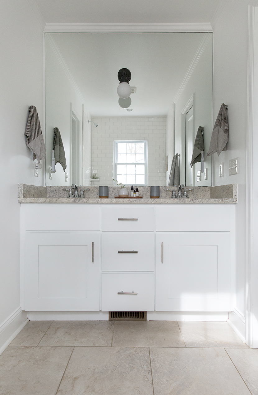 A master bathroom update fresh exchange for Bathroom updates