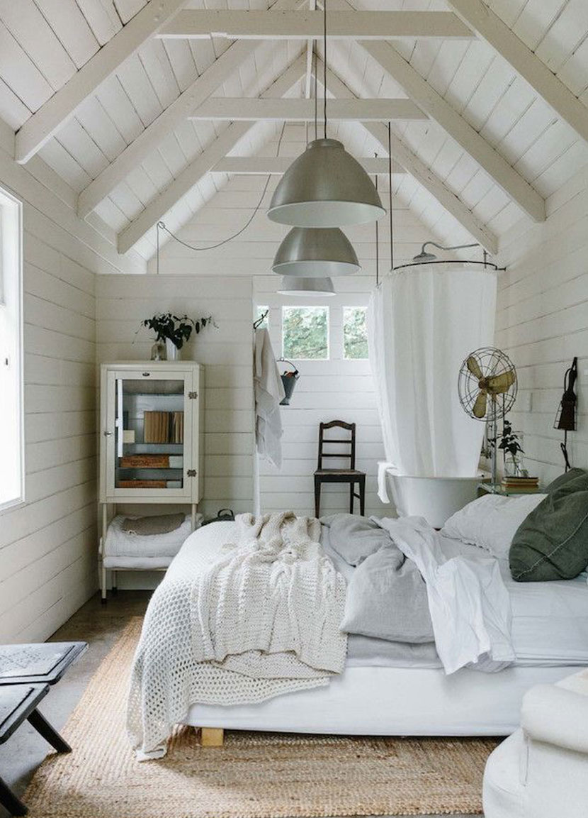 Our Master Bedroom Design for our Scandinavian Farmhouse is up on the blog today. See more on The Fresh Exchange.