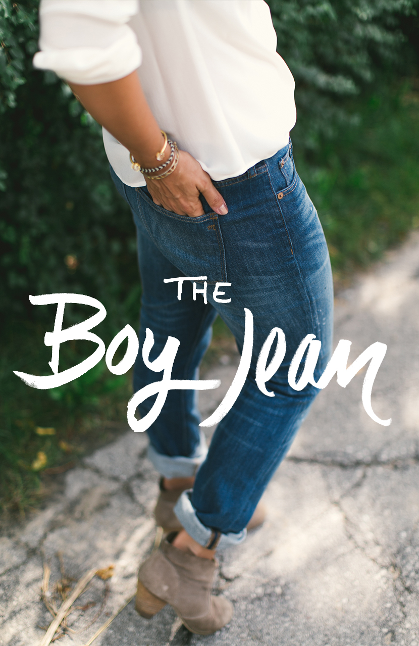 Megan Styled:  The Boy Jean  |  The Fresh Exchange