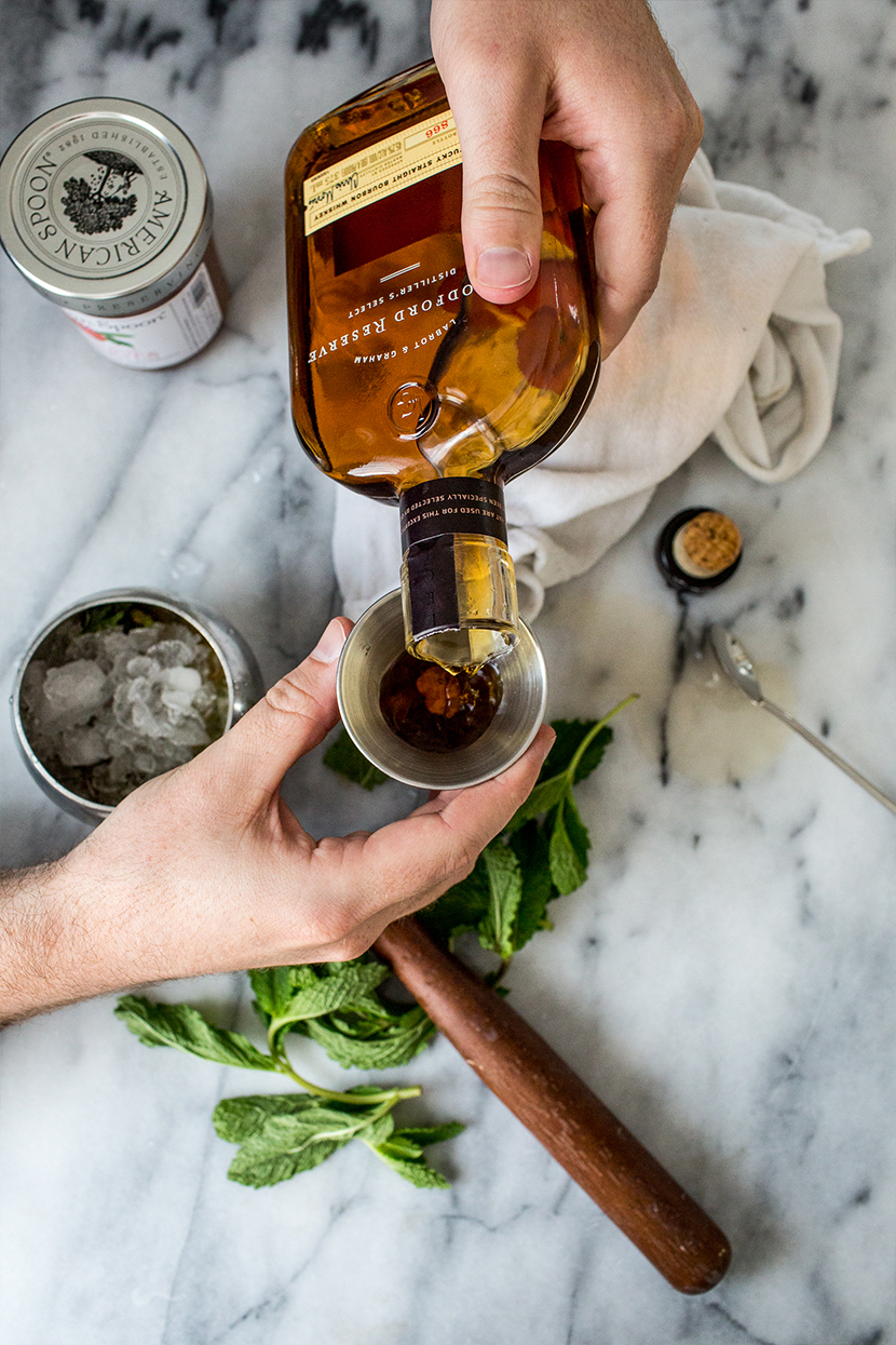 The Mint Julep: A Derby Day Cocktail wit Peaches | The Fresh Exchange