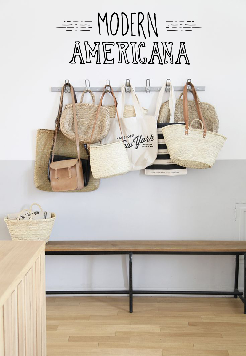 A Fresh Home: Modern Americana Inspiration  |  The Fresh Exchange