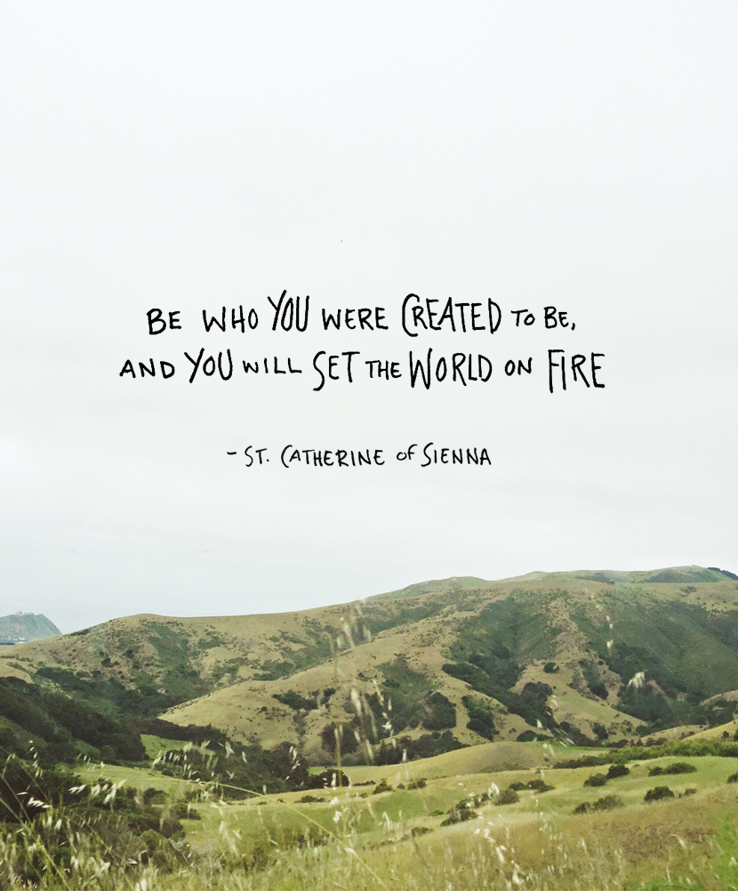 Be Who You Were Created To Be | The Fresh Exchange