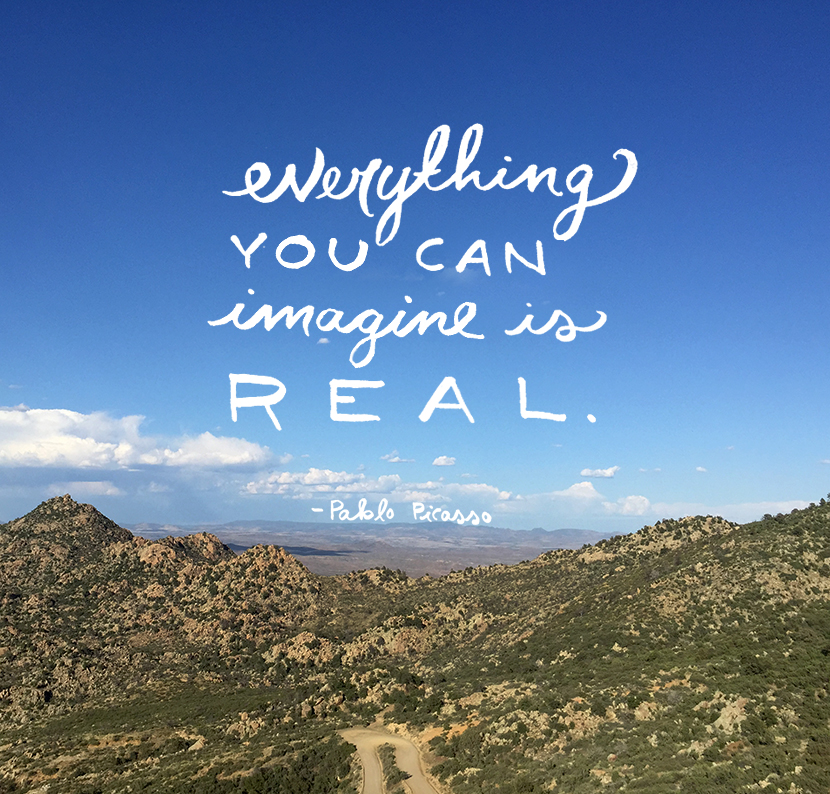 Monday Words: Everything You Can Imagine | The Fresh Exchange