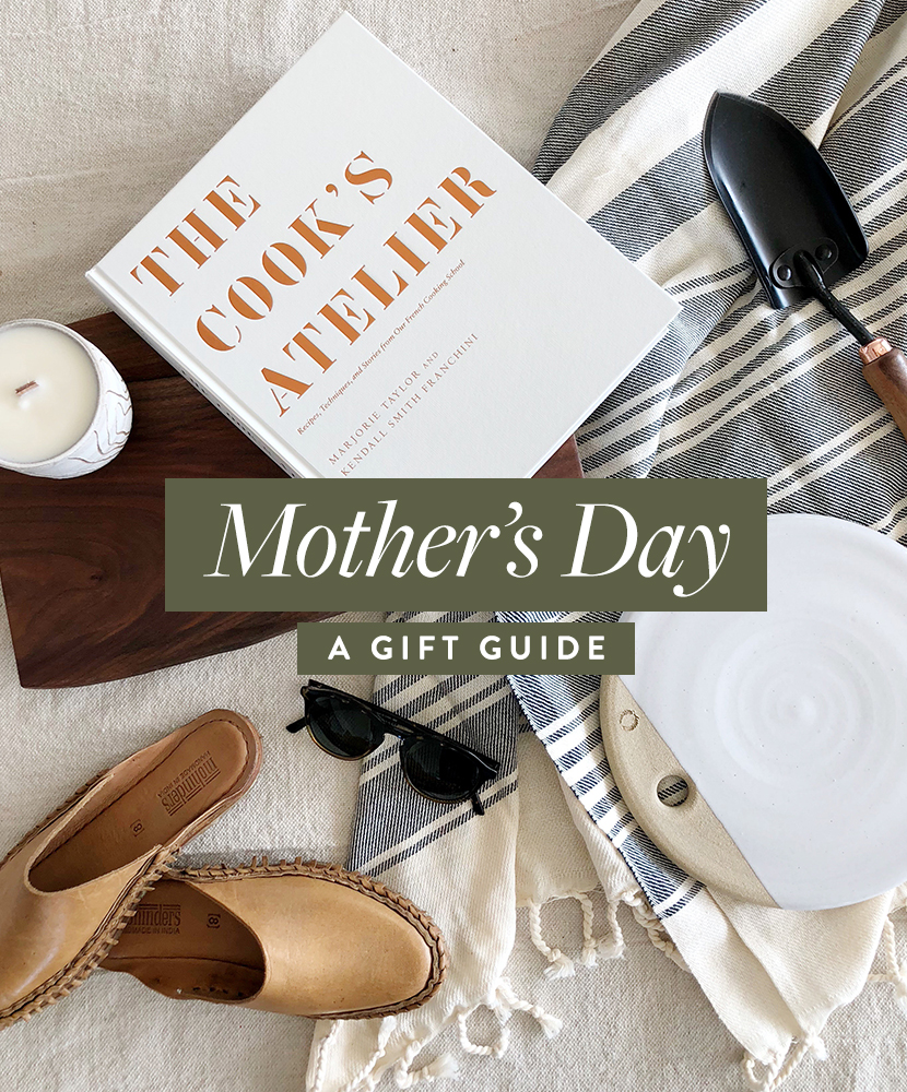 A Mother's Day Gift Guide full of small and quality products that will excite her this holiday season. More on The Fresh Exchange.