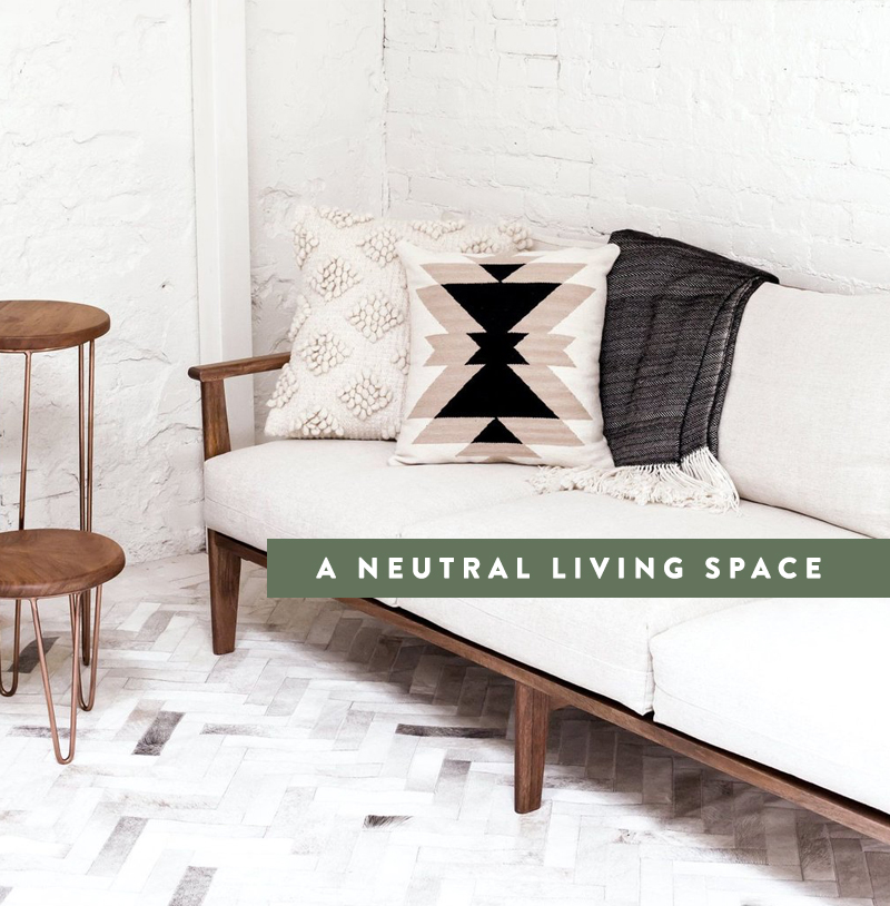 Building A Neutral Living Space | The Fresh Exchange