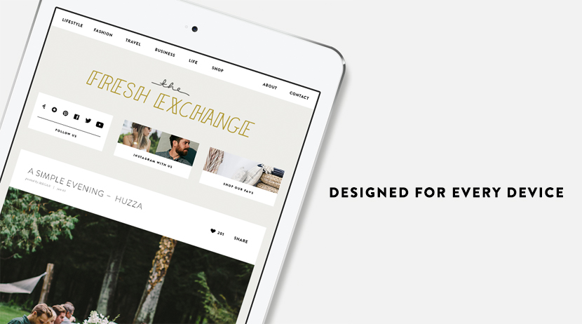 The Fresh Exchange --- A New Design