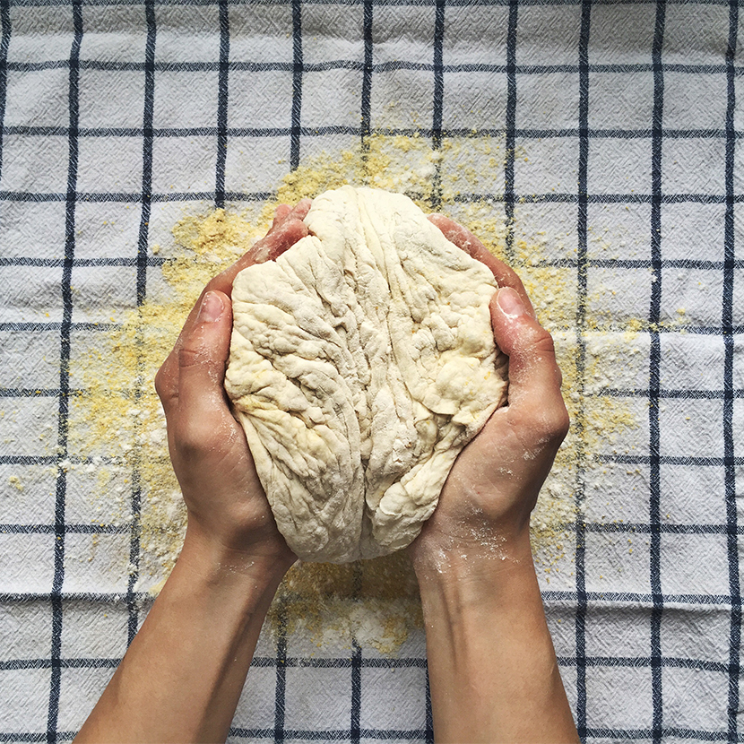 Just 5: No Knead Bread with Dill | The Fresh Exchange