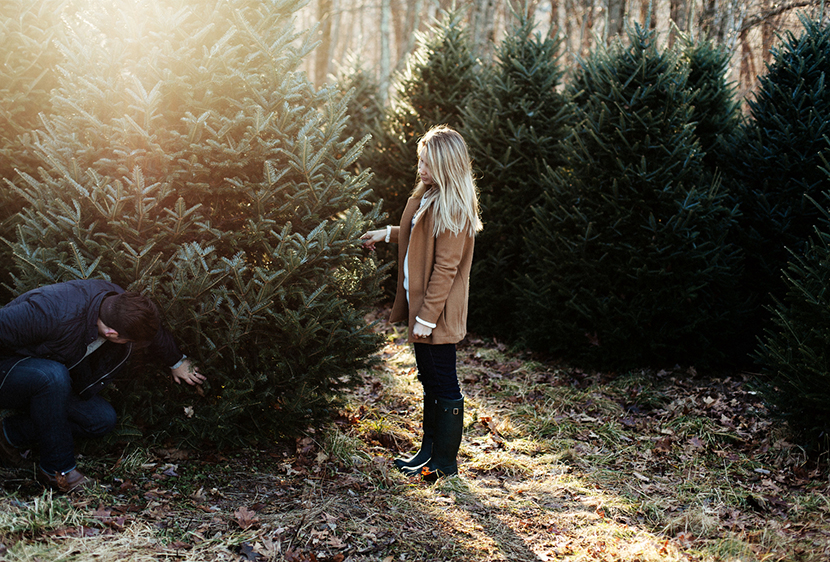 A Mountain Tree Hunt with Old Navy  |  The Fresh Exchange   |  Images by Brett and Jessica Donar