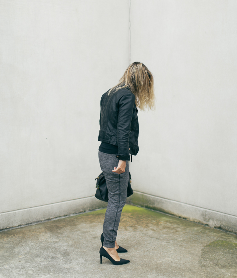 Megan Styled: The Jogger  |  The Fresh Exchange