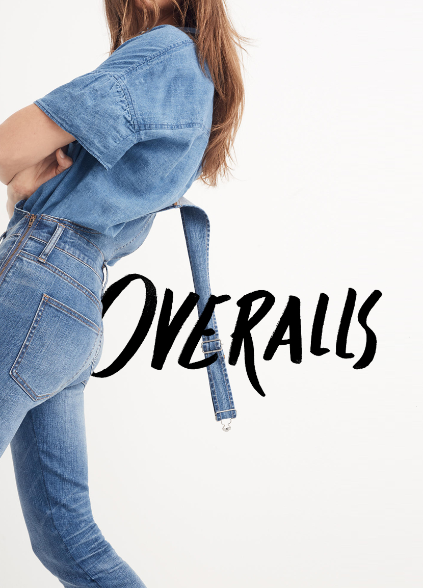 The Best Overalls for Spring on The Fresh Exchange.