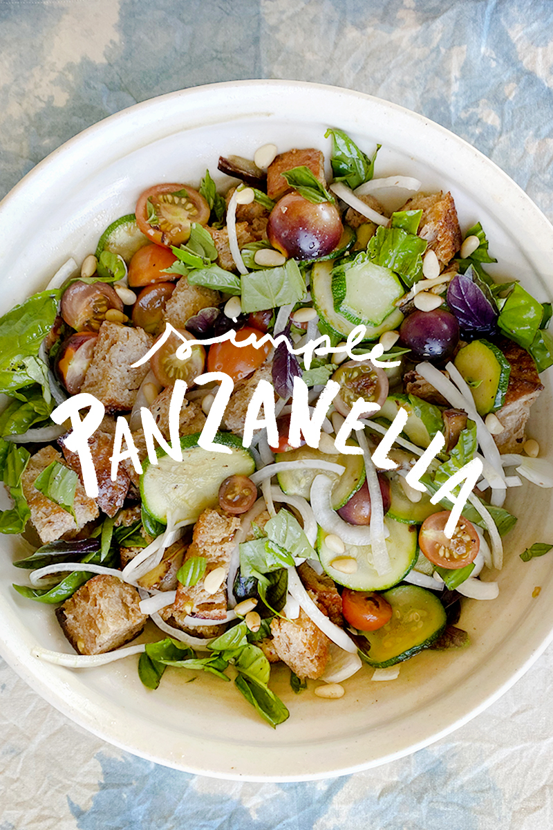 Simple and Easy Panzanella Recipe. | Fresh Exchange