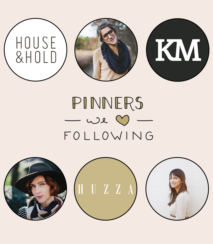 Pinners We Love Following  |  The Fresh Exchange