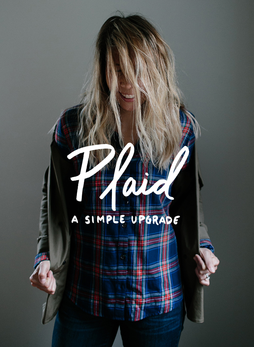 Plaid: A Simple Wardrobe Upgrade  |  The Fresh Exchange
