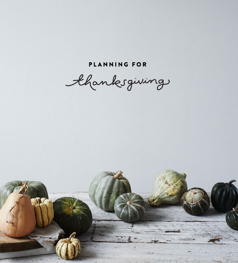 Some Thanksgiving Planning Tips | The Fresh Exchange