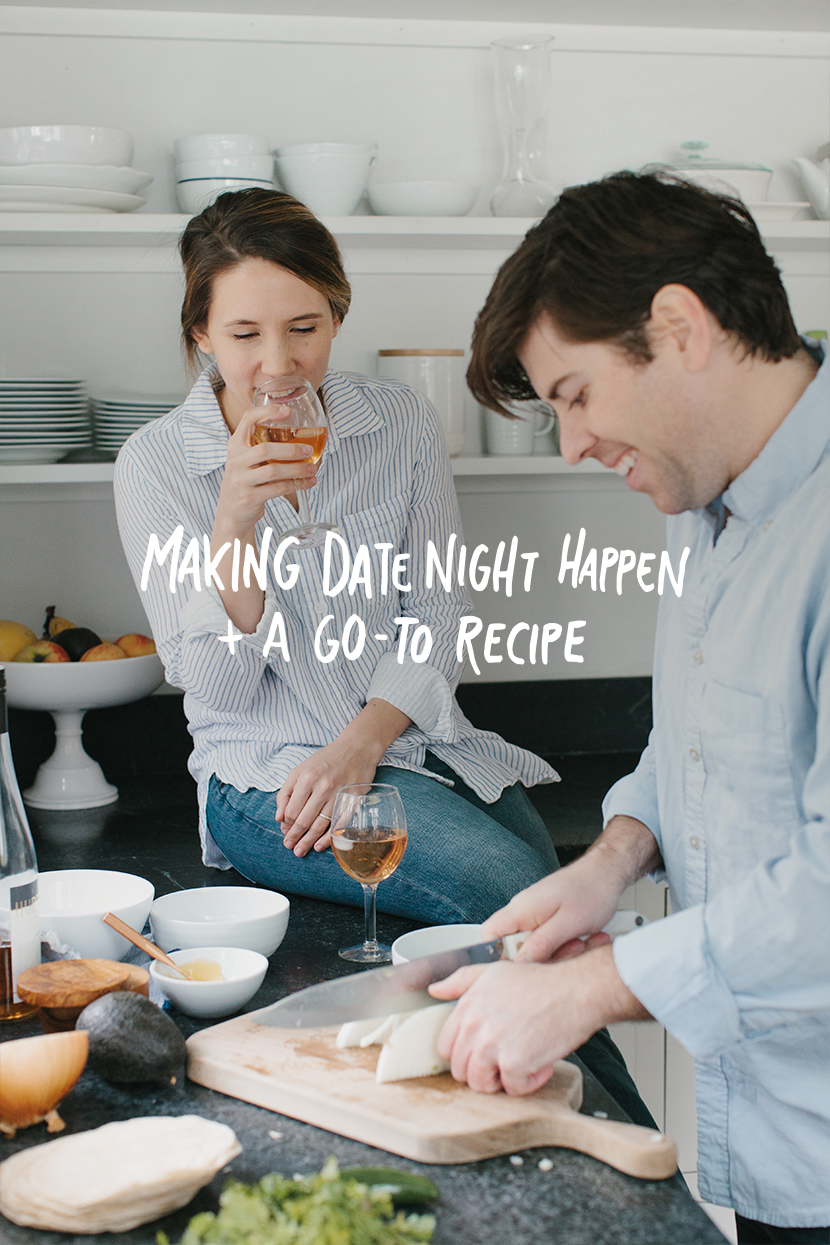 Date night as new parents doesn't have to be impossible. We have a simple date night taco recipe that you can make together right after your little one heads to bed. No excuses! Thanks @PlumOrganics for the reminder. #DoYourPartner #sponsored