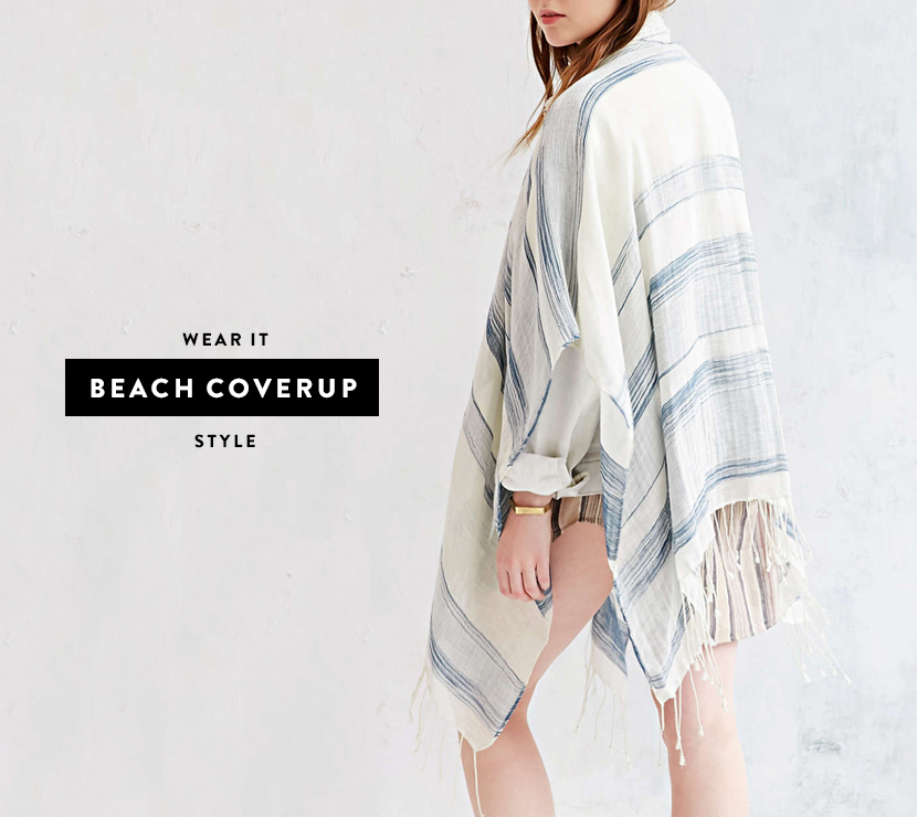 5 Ways to Wear a Poncho  |  The Fresh Exchange
