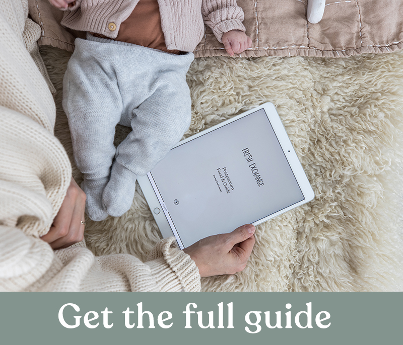 Guide to a healthy postpartum